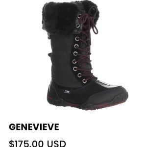 🇨🇦 Pajar Genevieve lace up Boots